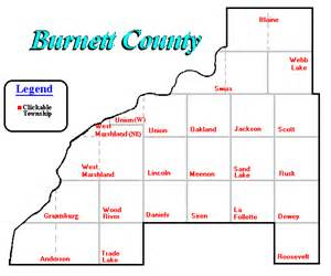 burnet county map real estate in burnett county wisconsin imagemap
