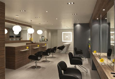 hair salon interior design wooden cabinets furniture for