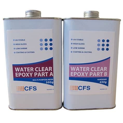 Clear Epoxy Multi Purpose Water Clear Epoxy 950g Kit