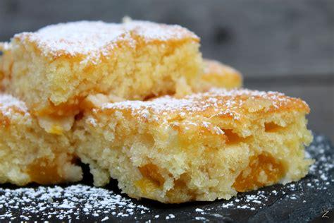 ganz schnelle kuchen ein saftiger pfirsichkuchen vom blech schokokuss