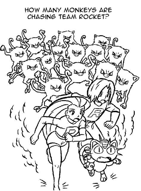 pokemon coloring pages team rocket blog creation2 team rocket pokemon cartoon coloring pages