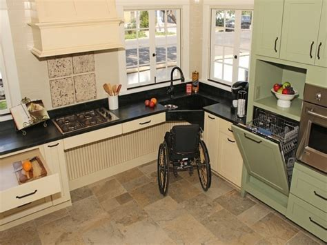 Handicap Accessible Kitchen Cabinets Designer Sinks Kitchens Wheelchair Accessible Kitchen Design Throughout Wheelchair Accessible