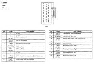 wiring diagram for 2002 lincoln ls radio