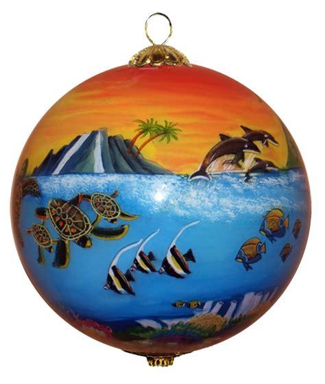 hawaiian designer christmas ornaments hawaiian ornaments represent much more than a simple reminder of hawaiian vacations