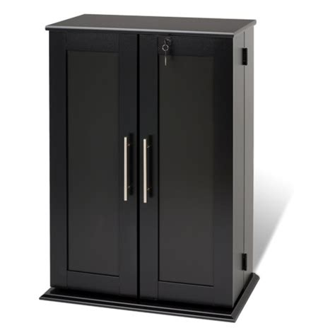 best media cabinets 33 3 quot 11 shelf media storage cabinet black bookcases