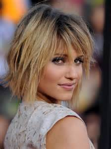 dianna agron in a funky hairstyles look
