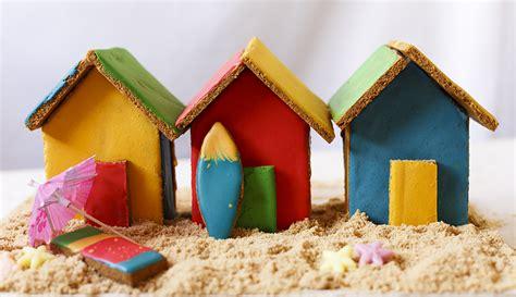 gingerbread beach house gingerbread beach huts the kate tin