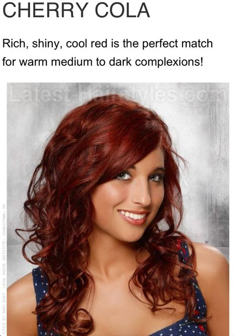 cherry coca cola hair color cherry cola red hair color hair pinterest of cherry cola