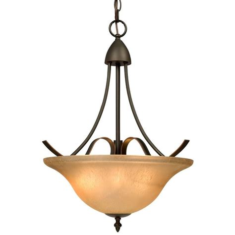 Filament Design Negron 3 Light Dark Brown Copper Filament Pendant Lighting