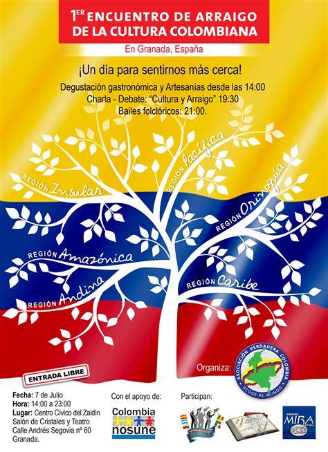 preguntas cultura general colombiana primer encuentro de arraigo de la cultura colombiana
