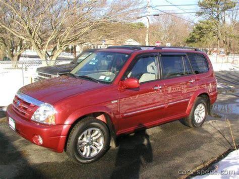 motor repair manual 2002 suzuki xl 7 parking system 2002 suzuki xl 7 suv specifications pictures prices