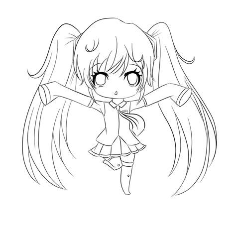 Imagenes De Anime Kawaii Para Pintar   dibujos kawaii para colorear y imprimir
