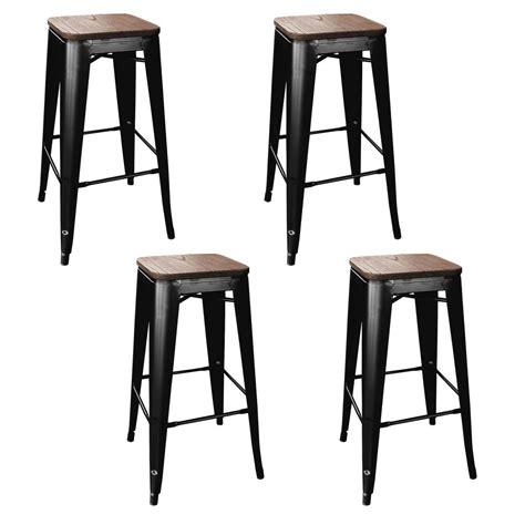 Grey Wicker Outdoor Bar Stools by Capral Outdoor Grey Wicker Barstools Set Of 4 637162938720