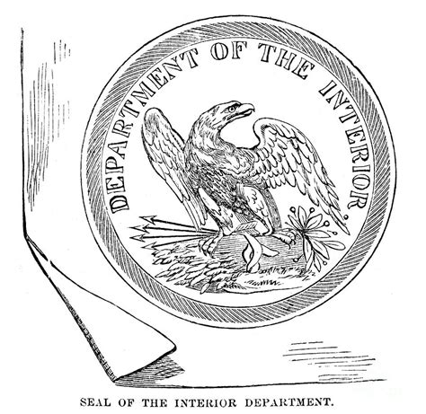 Department Of The Interior by Department Of The Interior Photograph By Granger