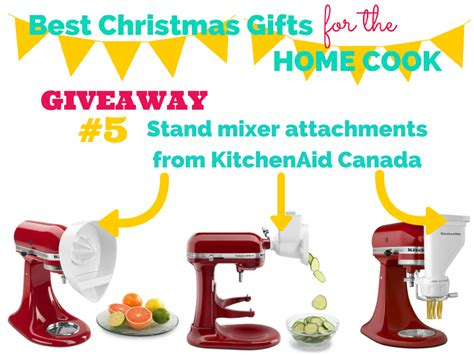 Christmas Gift Giveaway - family feedbag best christmas gifts giveaway kitchenaid attachments
