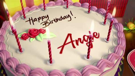 imagenes de happy birthday angie feliz cumplea 241 os angela cake my blog