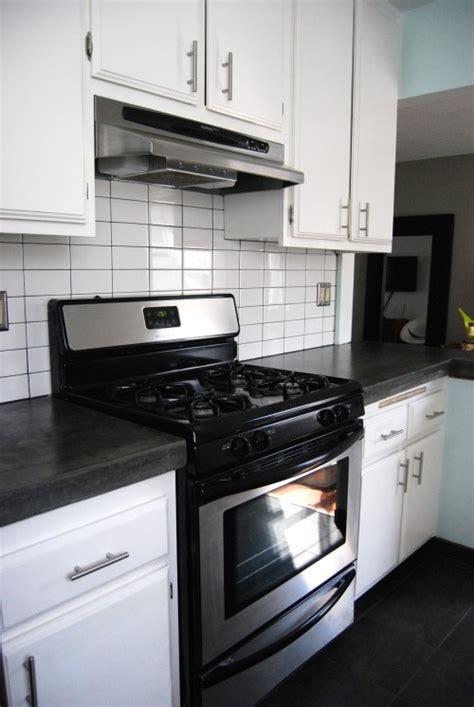 black cabinets concrete countertops kitchen dark slate gray concrete countertops kitchen pinterest