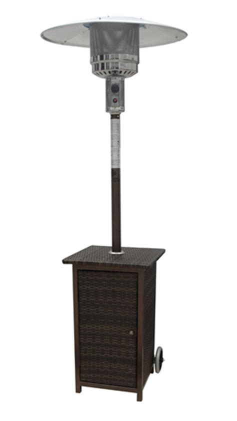 Palm Springs Patio Heater Palm Springs Rattan Patio Heater The Sports Hq