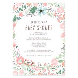 flower invitation template flower garden baby shower invitation invitations cards