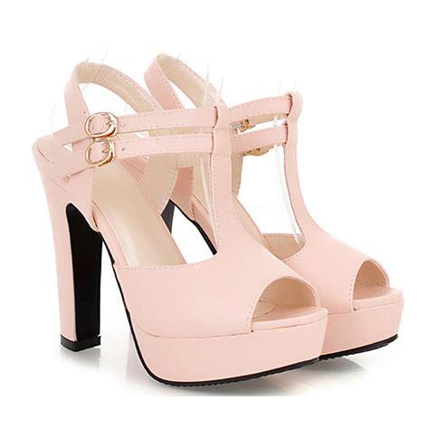 Sandal Gladiator Pria 4 sandals heels leather pu platform sandals summer shoes gladiator sandals in s