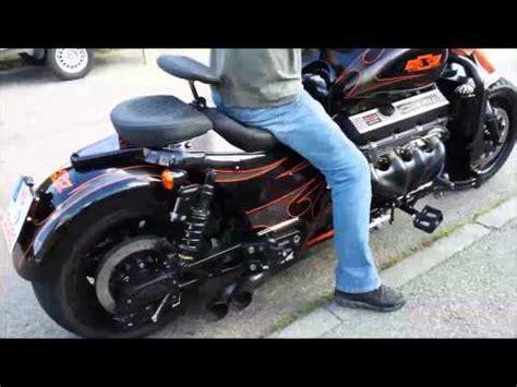 Boss Hoss V8 Motorcycle 8 Zylinder Motorrad by Boss Hoss V8 Vs R1 Funnycat Tv