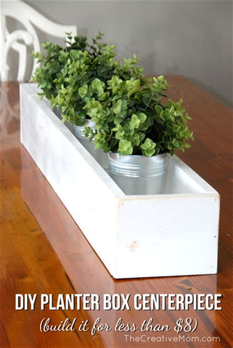 Dining Room Tables With Built In Leaves Diy Planter Box Centerpiece Build It For 8