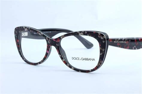 new dolce gabbana dg 3166 eyeglasses frames black floral