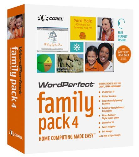 Greeting Card Templates For Corel Wordperfect by Wordperfect Family Pack 4 Warez8 Xyz