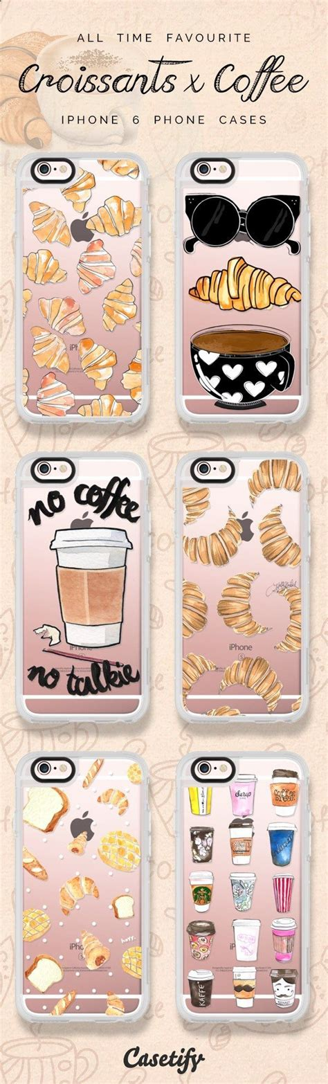 Coffee Addict Coffe 0166 Casing For Iphone 7 Plus Hardcase 2d all time favourite coffee and croissant iphone 6 protective phone designs click through