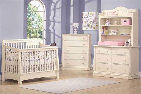 White Nursery Furniture Set Nursery Furniture Sets White Amazing Harbor In Convertible Crib Set With Nursery