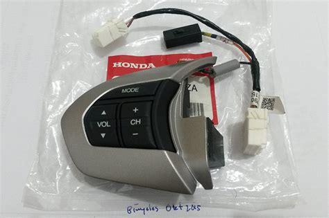 Sparepart Mobilio wts tombol stir audio honda mobilio brio steering wheel