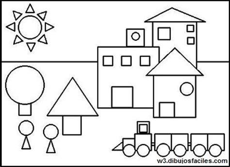 figuras geometricas dibujos imagenes para dibujar faciles
