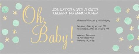 email baby shower invitation templates baby shower email invitations templates theruntime