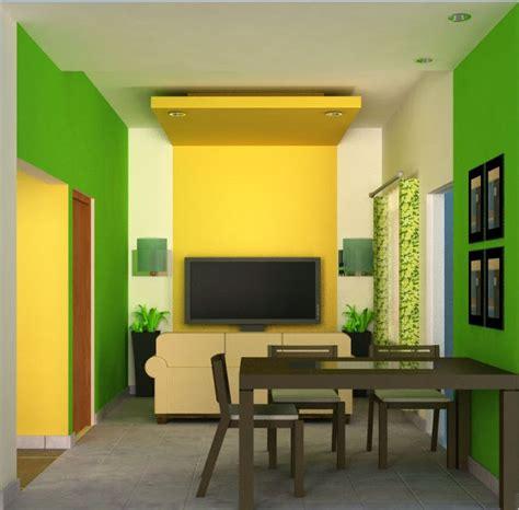 Cat Slr1 Rantai 5 Warna warna cat dan desain interior rumah minimalis sederhana