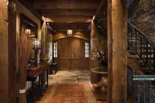Rustic Home Interiors Fabulous Rustic Interior Design Home Design Garden