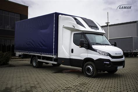 Back Sleeper by Iveco Daily Canvas And Boxes With Top Sleeper Back Sleeper