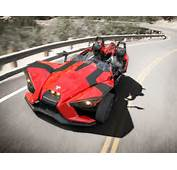 Like Surfing On Asphalt Slingshot Polaris Sleek Moto Car Hybrid
