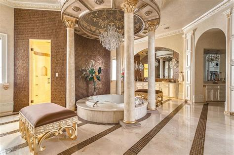 royal bathroom flawlessly made texas luxury home sends shivers down your