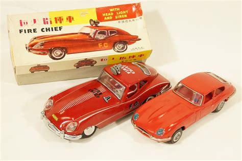 Korean Car Types by Sold Model Cars X 2 Tinplate Jaguar Xk E Type