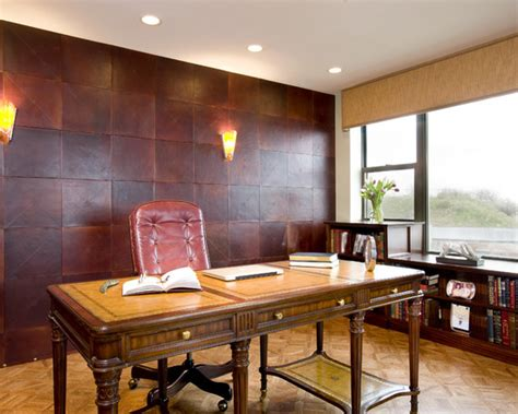 Refinement and Elegance   Leather Floors and Walls   How