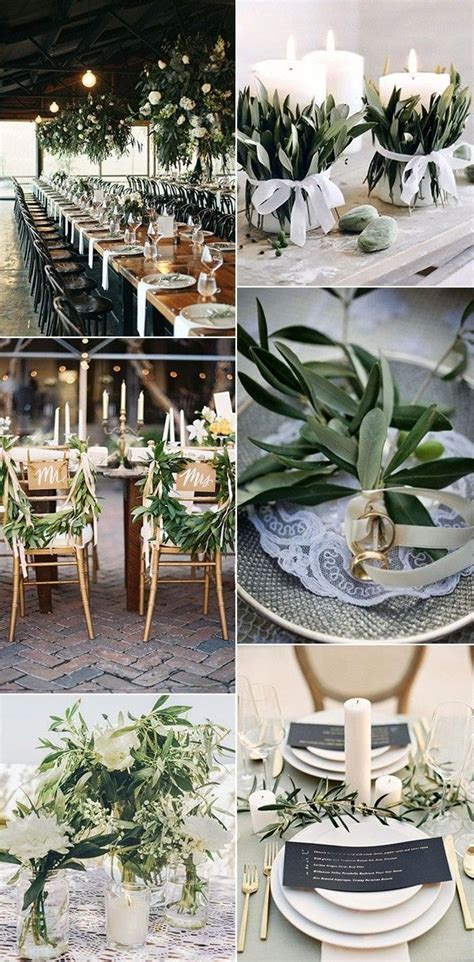 30  Gorgeous Olive Green Wedding Color Ideas for 2019