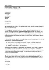 Cover Letter Writing Services by Customer Service Cover Letter Hashdoc