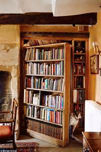 Library Bookcase With Doors Interiors To The Manor Reborn Daily Mail Online