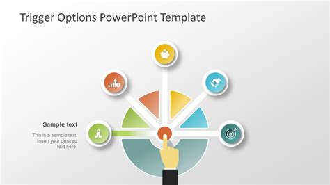 trigger options decision diagram for powerpoint slidemodel