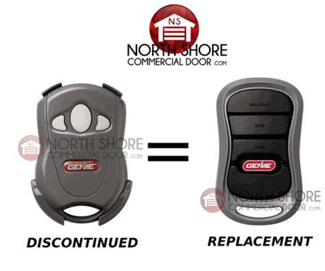Compact Garage Door Opener Genie Gict390 3 Garage Door Opener 3 Button Remote Transmitter 36484u