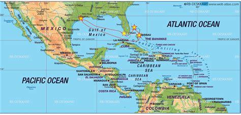 map of usa mexico and central america caribbean precious nuptials destinations the
