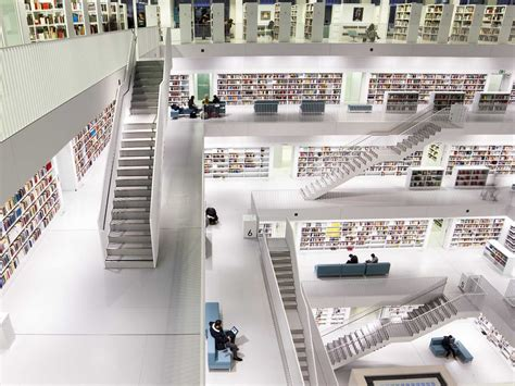 stuttgart city library 18 of the world s greatest libraries business insider