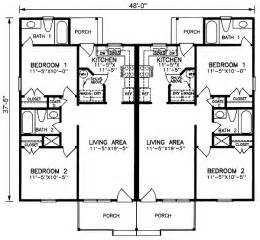 Two Story Duplex Plans Duplex Home Plans At Coolhouseplans