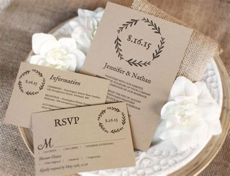 inkjet paper wedding invitations printable wedding invitation template diy wedding