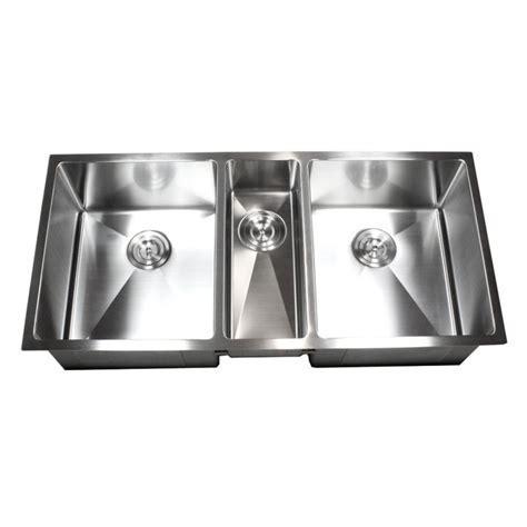 Three Bowl Kitchen Sink – 3 Bowl Kitchen Sinks Undermount Bowl ...
